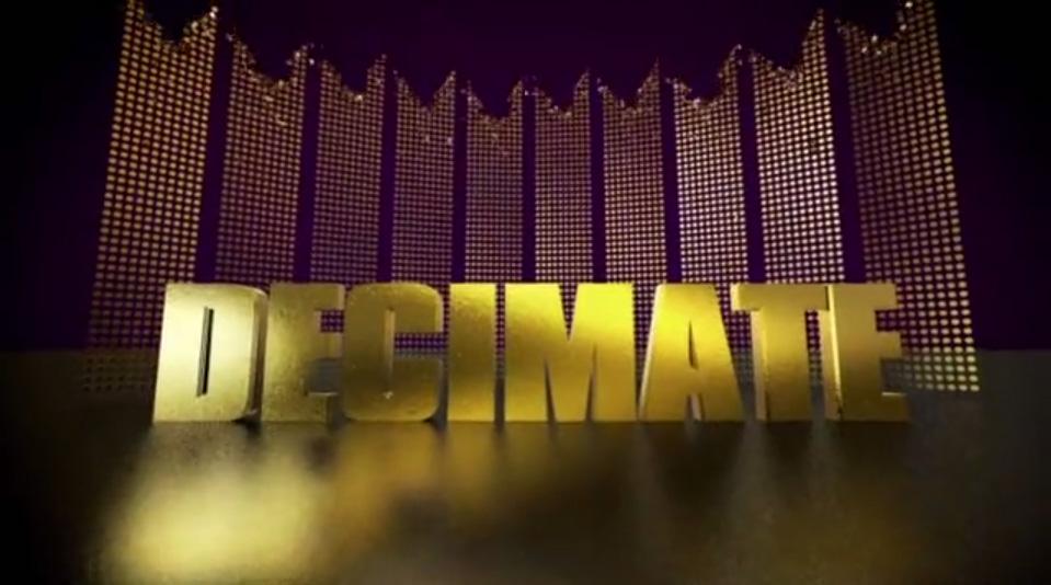 """""""Decimate"""" - titles BBC 1"""