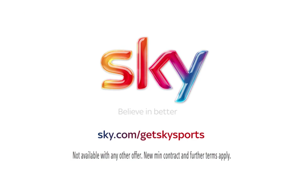 Sky Sports National UK TV advertising campaign