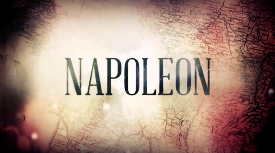 Napoleon - BBC Two 3 part documentary series